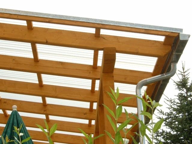 Terrassendach Zimmerei Wünscher